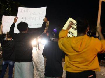 Protestas en Sacramento