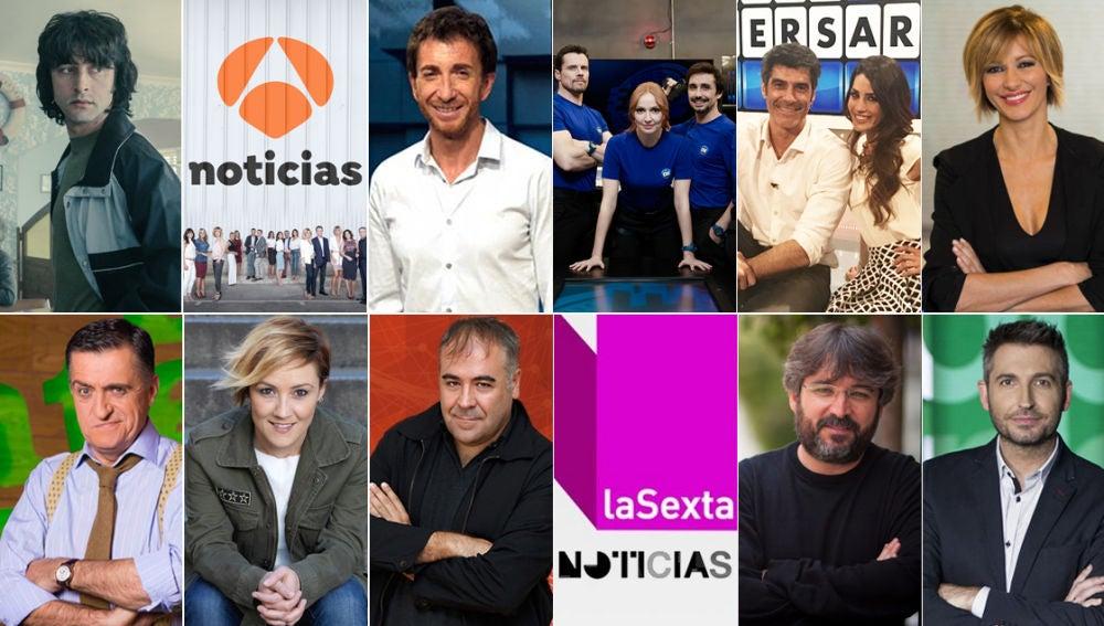 Audiencias abril Atresmedia TV