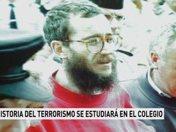 La historia del terrorismo se estudiará en el colegio