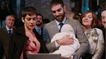 El bautizo de Elaia empañado por un enfrentamiento entre Carmen e Iñaki