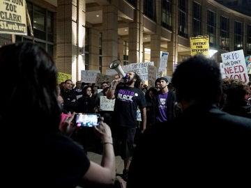 Protestas por la muerte de Stephon Clark