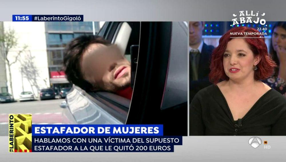 """Mónica, la víctima que denunció al estafador Albert Cavallé tras robarle 200 euros: """"Cuando tenía el dinero, desapareció"""""""