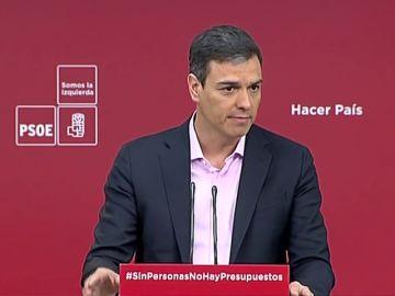"""Sánchez: """"Si algo demuestra al acuerdo al que han llegado PP y C's es que son lo mismo pero con distinto nombre"""""""