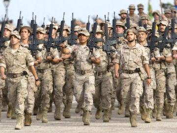 Imagen del ejército español