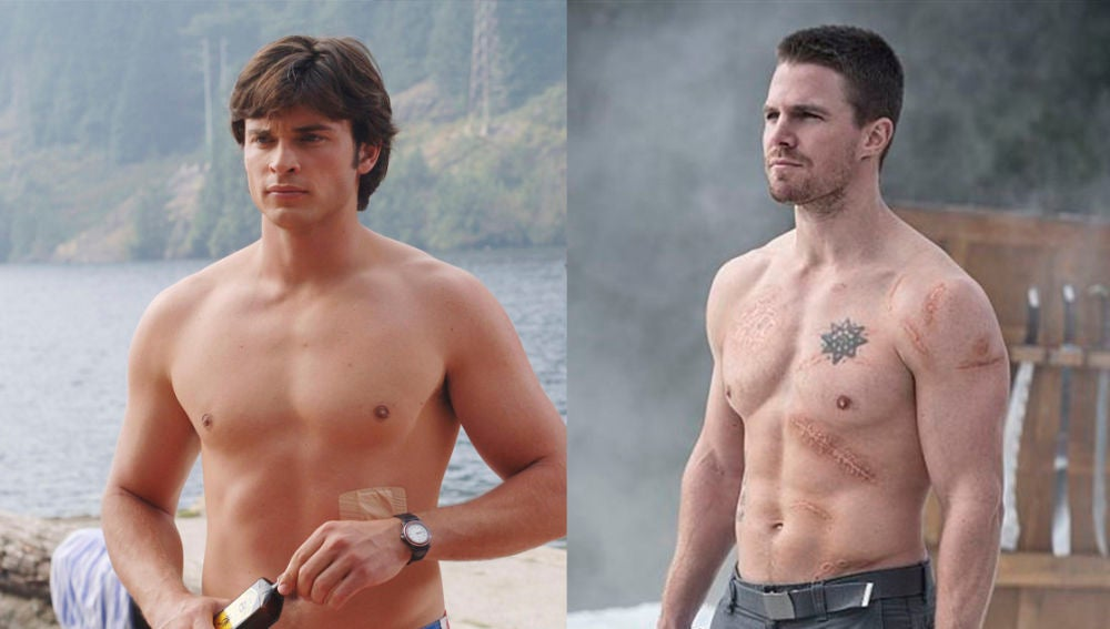 Protagonistas de 'Smallville' y 'Arrow'