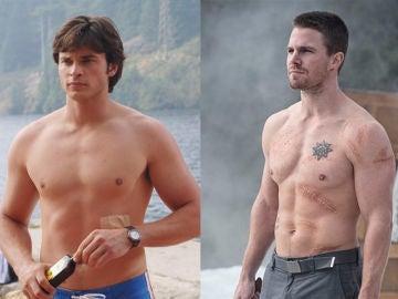 Protagonistas de 'Smallville' y 'Arrow'