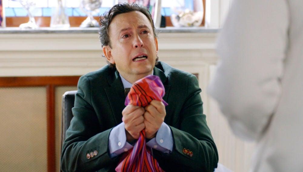 Cristóbal sigue hundido añorando a su gordi