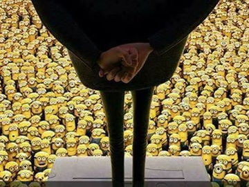 El reto viral de los Minions y Bob Esponja