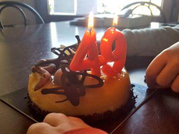 Foto de tarta de cumpleaños de Junqueras