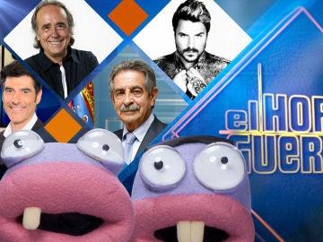 Jorge Fernández, Joan Manuel Serrat, Miguel Ángel Revilla y Dani Martín estarán en 'El Hormiguero 3.0'