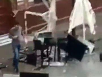 Un tornado provoca numerosos daños materiales en Triana