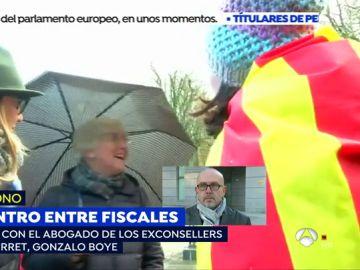Gonzalo Boye en Espejo Público