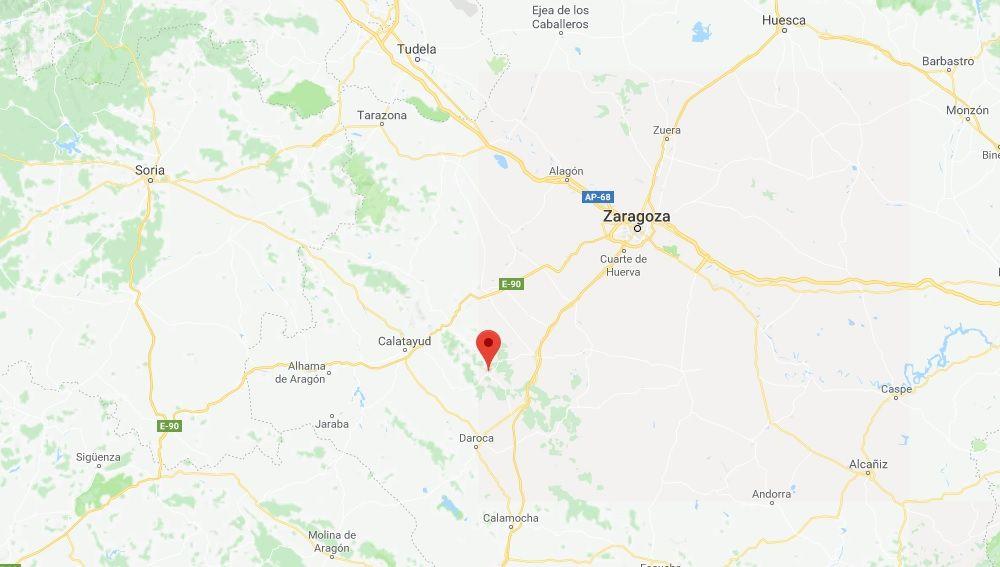 Localidad de Codos, en la provincia de Zaragoza