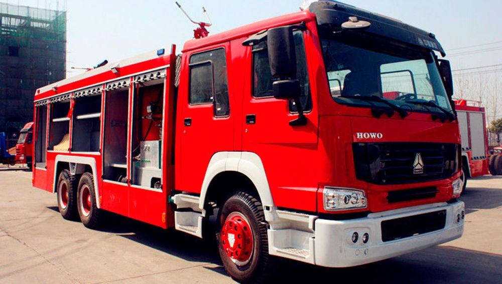 Camión de bomberos en China