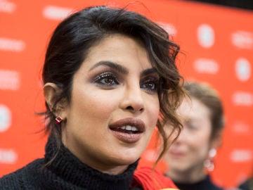 La actriz Priyanka Chopra en una de sus últimas apariciones públicas