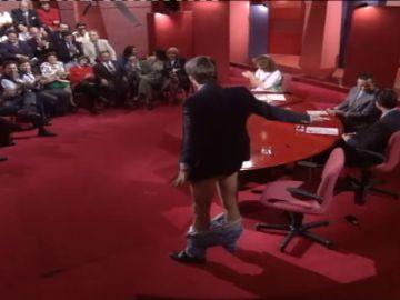 Jesulín de Ubrique se desnuda en directo para mostrar sus cicatrices