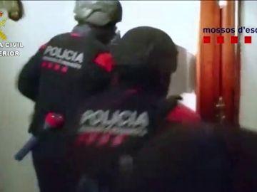 Detenida una banda que robaba en domicilios de Cataluña y Aragón