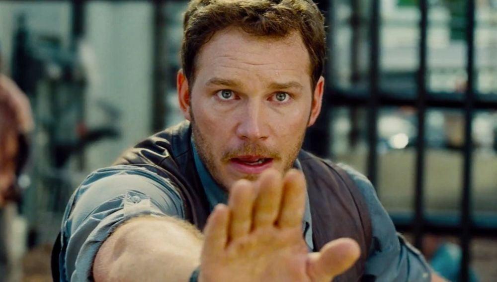 Chris Pratt flipándolo con 'Entre fantasmas'