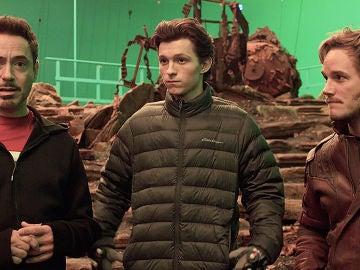 Imagen del rodaje de 'Vengadores: Infinity War'