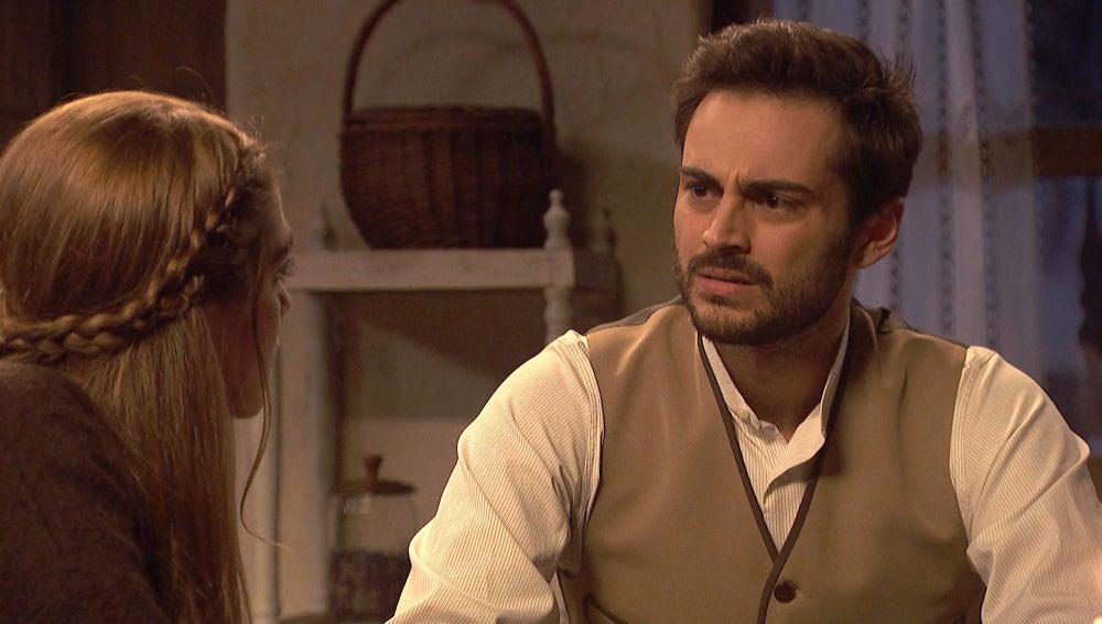 Saúl duda sobre cómo actuar frente a las intenciones de Doña Francisca