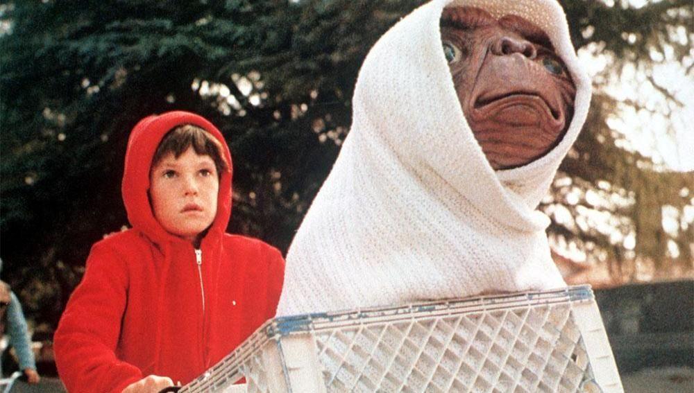 Fotograma de la película E.T. , el extraterrestre
