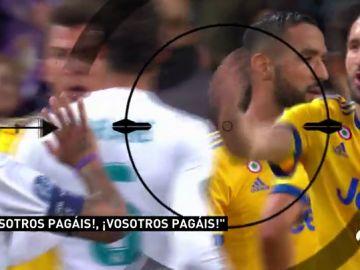 """""""¡Habéis pagado!"""": Chiellini perdió los papeles con el penalti a Lucas Vázquez"""