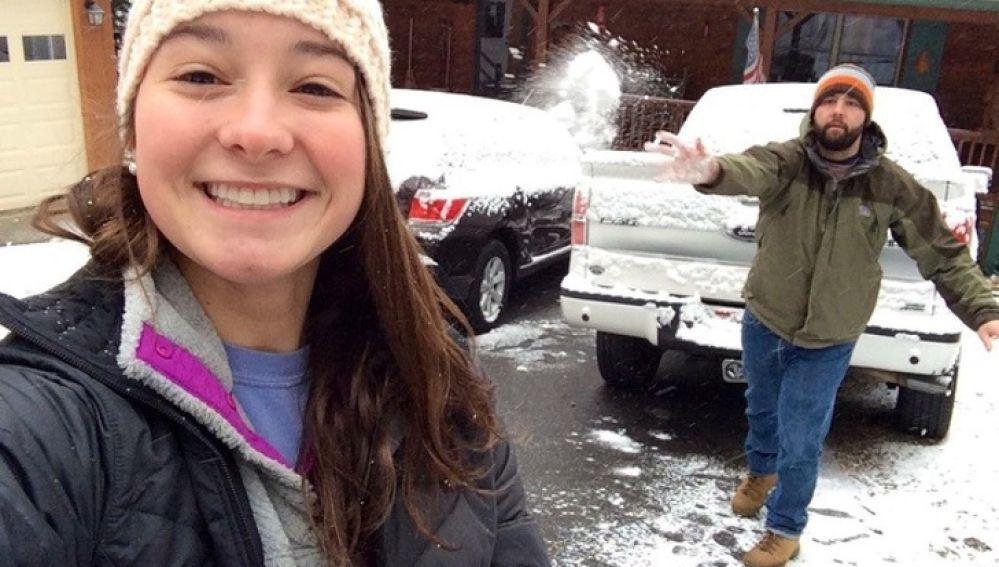Bolazo de nieve