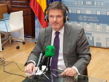 El ministro, Rafael Catalá en Más de Uno