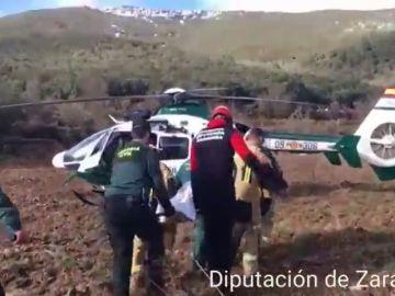 Hallan el cuerpo sin vida del pastor desaparecido por la riada en Codos (Zaragoza)