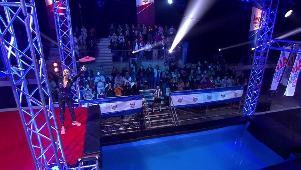 Patricia Montero se atreve con un nuevo obstáculo de 'Ninja Warrior' España