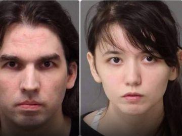 Steven Pladl y Katie Pladl. Fotografía de la ficha policial