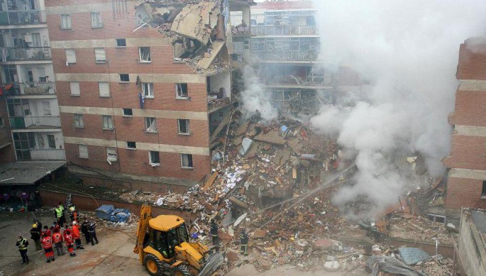 Imagen de archivo de la explosión en Palencia