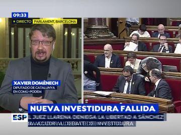 Xavier Domènech en Espejo Público