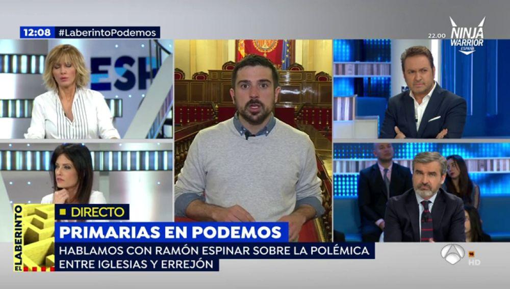 Ramón Espinar en Espejo Público