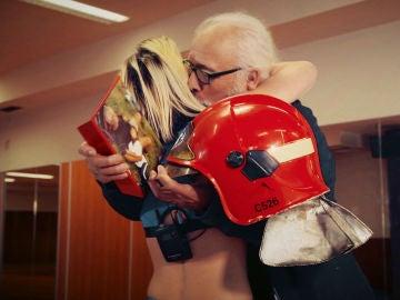 Raquel, una bilbaína que se reencuentra con su abuelo en 'Ninja Warrior' España tras 8 años separados