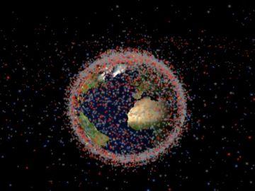 """Es posible vigilar la """"basura espacial"""" que sobrevuela nuestras cabezas"""