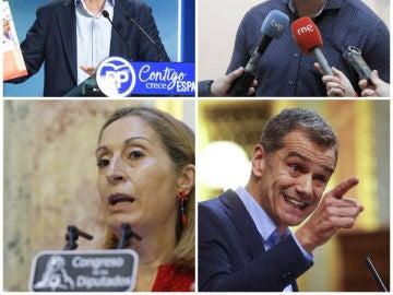Políticos que habrían falseado sus currículums
