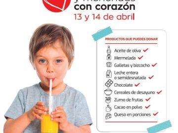 Campaña 'Desayunos y meriendas con corazón'
