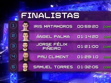 Descubre los finalistas del segundo programa de 'Ninja Warrior' España