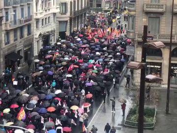 Manifestación en Barcelona por unas pensiones dignas