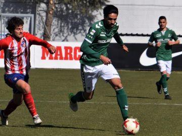 Lassad Nouioui, en un partido del Toledo