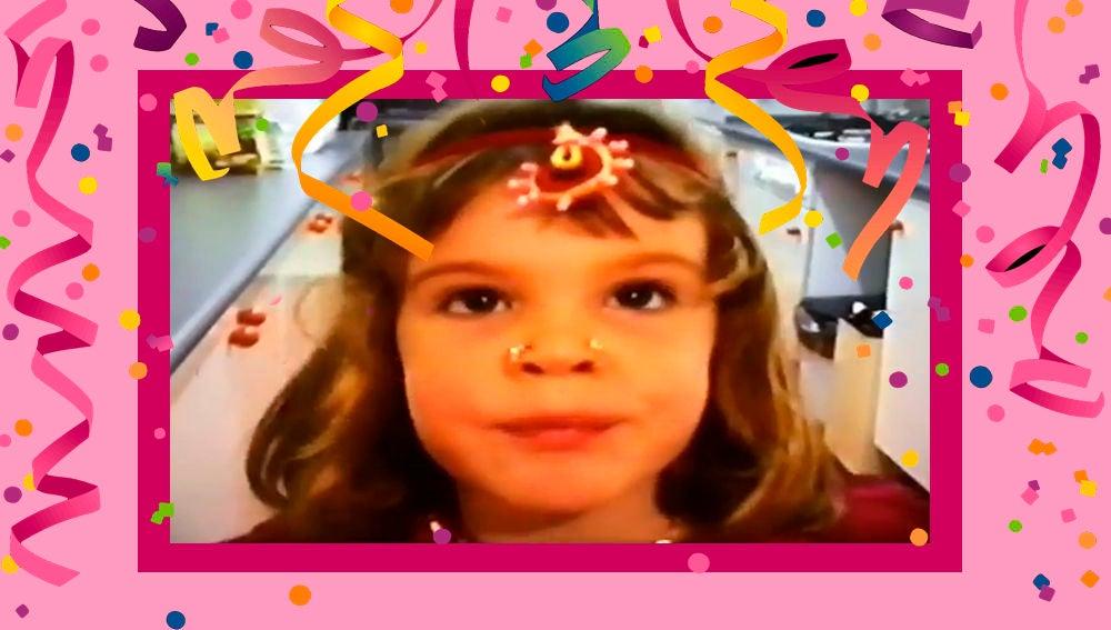 El divertido vídeo de la infancia de Lucía Martín que ha enternecido a los seguidores