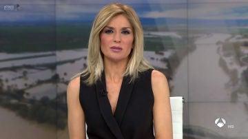 Sandra Golpe, presentadora de Antena 3 Noticias 1