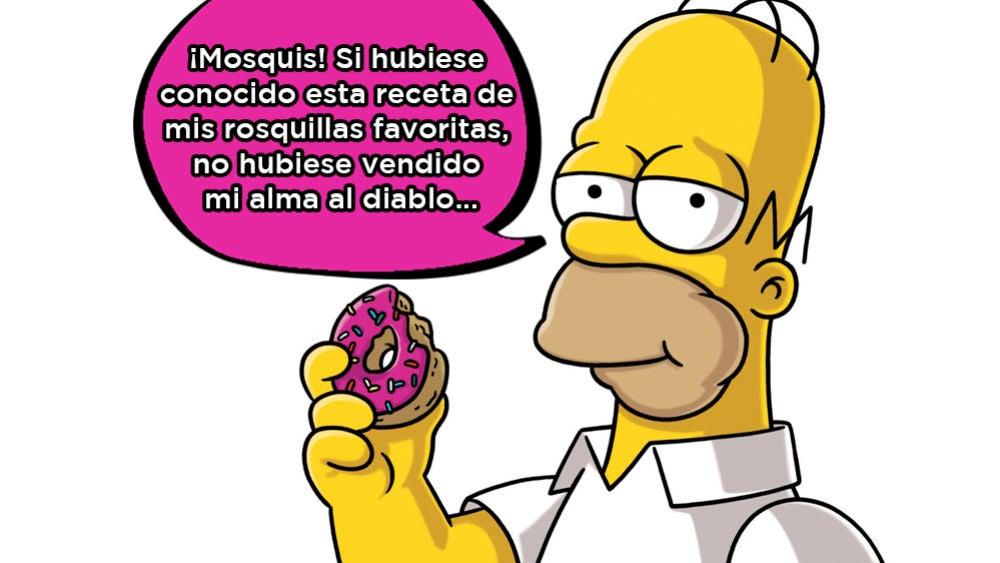La fácil receta de las rosquillas favoritas de Homer Simpson que ya están a la venta