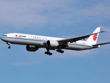 Avión de la aerolínea Air China