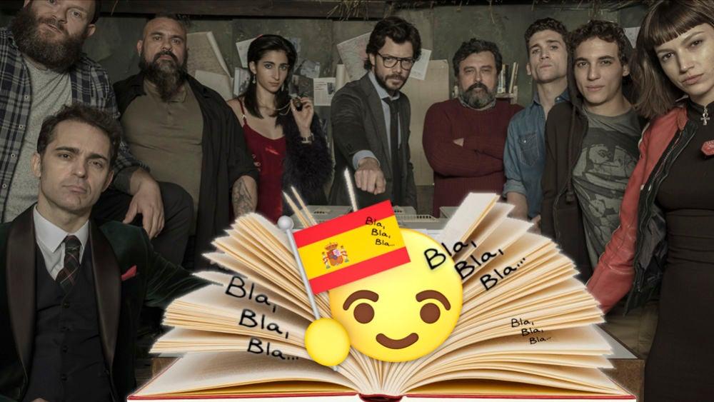 Antena 3 Tv La Casa De Papel Las Frases En Español De La Casa