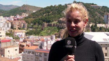 Belén Rueda presenta 'No dormirás' en Málaga