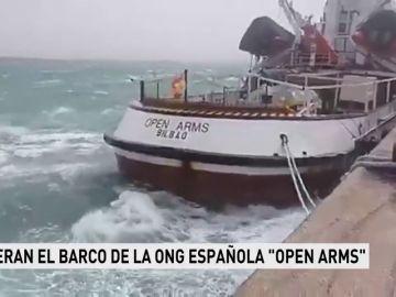 Liberan el barco de la ONG Open Arms inmovilizado en Sicilia