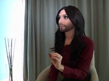 Conchita Wurst revela que es portadora del virus del VIH