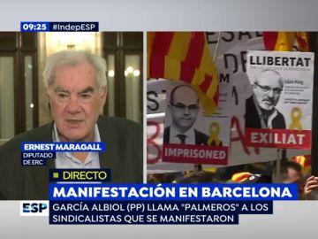 Ernest Maragall, diputado de ERC
